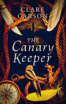 ShortBookandScribes #BookReview – The Canary Keeper by Clare Carson