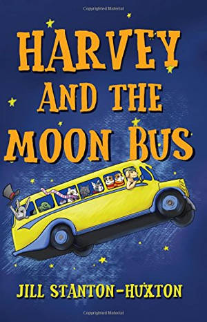 ShortBookandScribes #BookReview – Harvey and the Moon Bus by Jill Stanton-Huxton @JMSTantonHuxton #RandomThingsTours #BlogTour