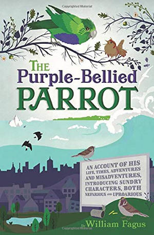 ShortBookandScribes #BlogTour #Interview with William Fagus, Author of The Purple-Bellied Parrot #RandomThingsTours
