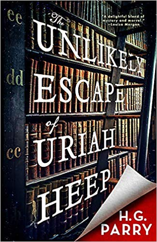 ShortBookandScribes #BookReview – The Unlikely Escape of Uriah Heep by H G Parry @OrbitBooks #BlogTour