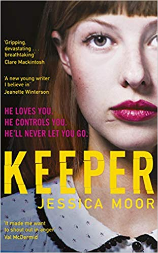 ShortBookandScribes #BookReview – Keeper by Jessica Moor @VikingBooksUK