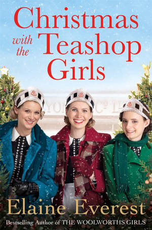 ShortBookandScribes #BookReview – Christmas With the Teashop Girls by Elaine Everest #TeashopGirlsChristmas #BlogTour